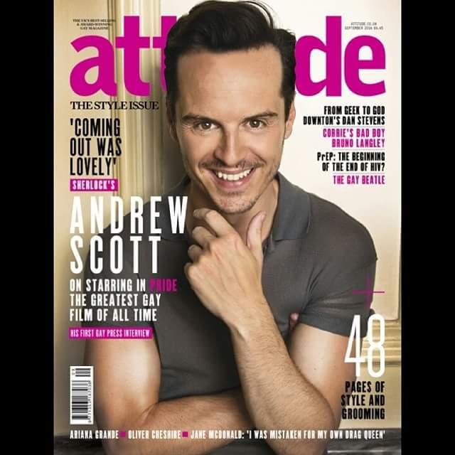 Attitude Andrew Scott