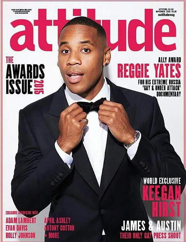 Attitude Reggie Yates
