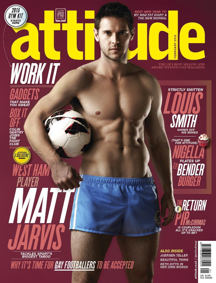 Attitude Magazine Feb 2013 MATT JARVIS