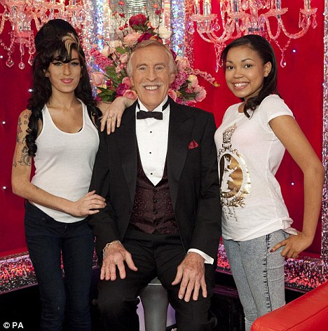 AMY WINEHOUSE, BRUCE FORSYTHE, DIONNE BROMFIELD