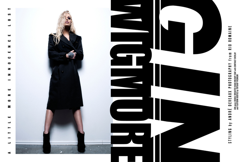 GIN WIGMORE Rough Magazine