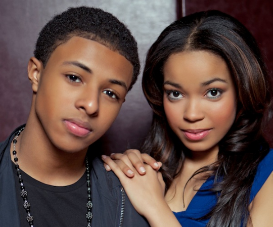 DIGGY SIMMONS AND DIONNE BROMFIELD